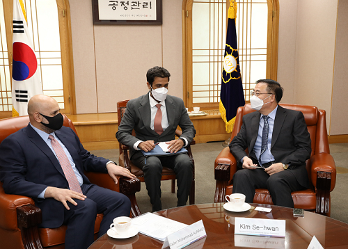 NEC Secretary General Kim Sehwan Meets with the Honorable Kuwaiti Ambassador to the Republic of Korea